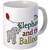 CafePress–elefante y el globo–taza, blanco, Mega