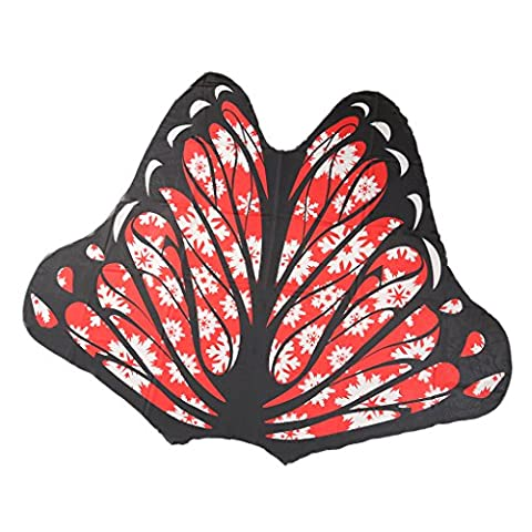 Sharplace Butterfly Wings Tapestry Beach Boho Shawl Bikini Cover Up Towel Yoga Mat - Color #3, 150 * 150cm