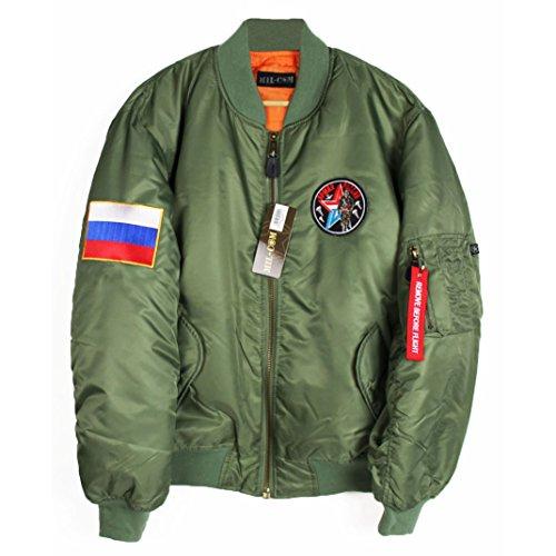 Agora Russia MA-1 Bomber Jacket Olive