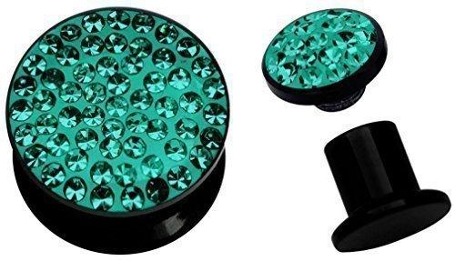 acrylique-doreille-piercing-epoxy-plug-a-visser-en-10-mm-de-diametre-vert-turquoise