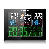 EXCELVAN COLOR Station météo avec prévisions, température, humidité