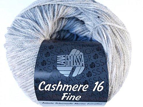 LANA GROSSA Cashmere 16 fine, 15 - Hellgrau (Cashmere 16)