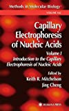 Capillary Electrophoresis of Nucleic Acids (Methods in Molecular Biology, Band 162)