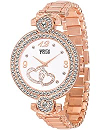 Youth Club CH-LVECPR New Studded Dial Case Watch for Girls