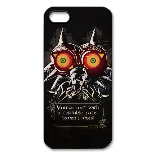 iPhone 5S Coque, The Legend of Zelda Series Apple iPhone 5s Housse etui coque case cover Coque en silicone skin Housse Coque Shell de protection pour iPhone 55S