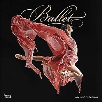 Ballet 2020 Calendar: Foil Stamped Cover