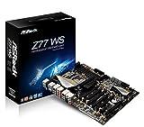 Asrock Z77 WS Mainboard Sockel LGA 1155 (ATX, Intel Z77, 4x DDR3 Speicher, 6x SATA III, HDMI, 2x RJ-45, 12x USB 3.0)