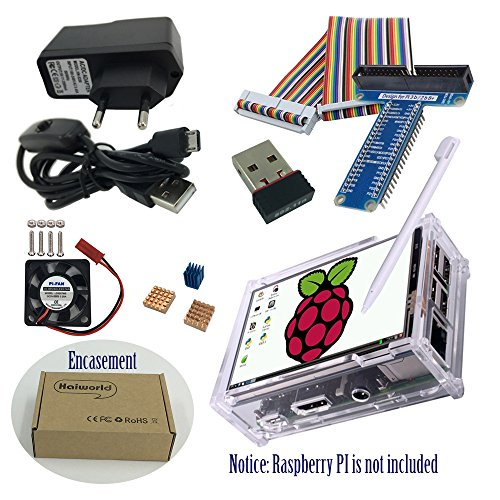 Haiworld RPI Starter Kit Para Raspberry Pi 3 b / 2b, 3.5