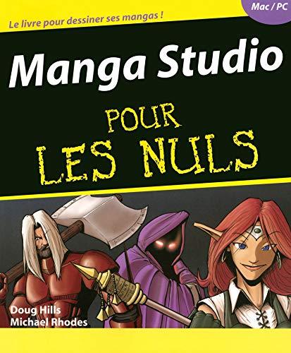 Manga studio Pour les nuls par Doug HILLS