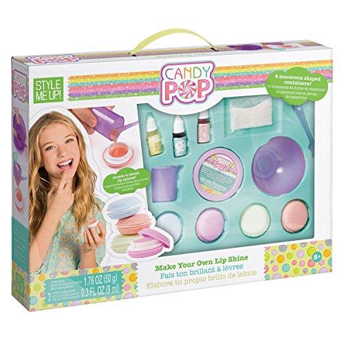 Lippenbalsam-kits (Style Me Up - Basteln Mädchen - Schminkset Mädchen- Lippenbalsam zum selbermachen - Geschenke für Mädchen - SMU-1693)