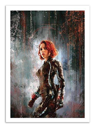 Art-Poster - Black Widow - Wisesnail - 50 x 70 cm -