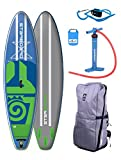 STAR Board Wide Point 10'5Zen SUP 2018Board con supwave Dry Bag gonfiabile ISUP Stand Up Paddle Board
