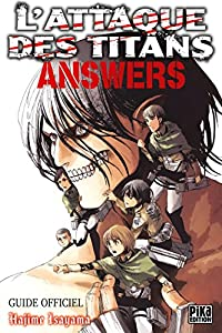 L'Attaque des Titans - Answers Edition simple Tome 0