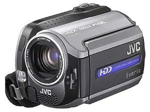 JVC GZ-MG155EX Caméscope à Disque Dur EVERIO disque dur interne de 30 Go lecteur de carte SD capteur 1 Mpix Zoom optique 32x / zoom numérique 800x