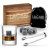 Best pietre del whisky - Lacari ® Premium Set Regalo per Whisky – Review