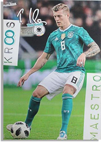 Toni Kroos Mini-Poster Nationalspieler der Deutschen Fußball-Nationalmannschaft DIN A3 WM Weltmeister Stars Helden Deutschland Germany Fan DFB Team Foto (Toni Kroos) - Mini-poster