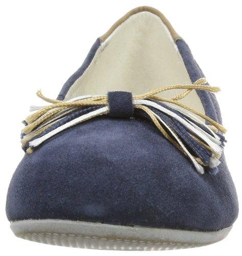 s.Oliver Casual 5-5-42204-22 Mädchen Ballerinas Blau (Navy 805)