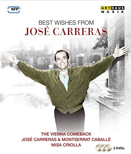 Best wishes from José Carreras [3 DVDs]
