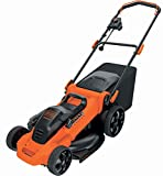 BLACK+DECKER LM2000-QS QS Tondeuse Filaire 2000 W Orange 48 cm