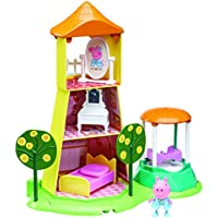 "Peppa Pig 06174 ""Princess Peppa's Rose Garden and Tower"" Playset"