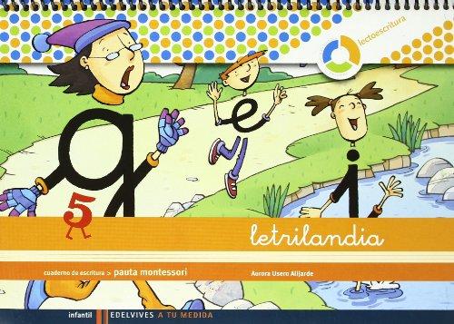 Cuaderno de escritura 5: Pauta Montessori par Aurora Usero Alijarde