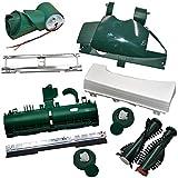 Mega Set Reparatur Set geeignet für Vorwerk EB 350 351 Bodenblech Bürste Deckel u.v.m. Kobold 131 135