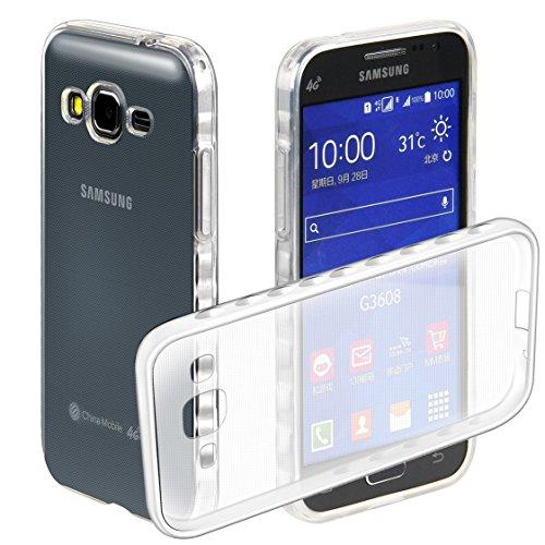 Coque Samsung Galaxy Core Prime G360, AYASHO® Ultra mince Slim Soft TPU Silicone housse Etui Protective Bumper Cas Cover Pour Samsung Galaxy Core Prime SM-G360  Core Prime VE Value Edition SM-G361 (Transparente)