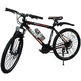 Cosmic Flash 26T 21-Speed MTB Bicycle (Black/Orange)