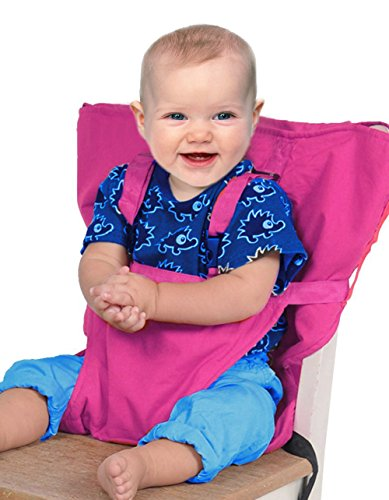 Vine Baby Portable Hochstuhl Reise Sitzbezug Kleinkind Sicherheit Hochstuhl Säugling Sack (Hochstuhl Rosa Abdeckung)