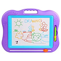 TONOR Magnetic Colorful Erasable Baby/Kids Skill Development Drawing Board Blackboard