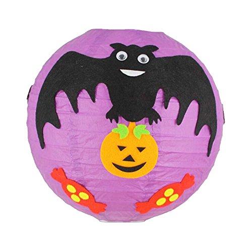 Black Temptation Halloween DIY Ornamente Laterne Handmade Material Kit 2er Set