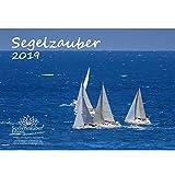 Segelzauber · DIN A4 · Premium Kalender 2019 · Segelschiff · segeln · Wasser · Yacht · Boot · Reling · Fjord ·