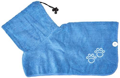 Trixie 23481Albornoz para Perros, Color Azul