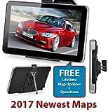 7 INCH SAT NAV GPS NAVIGATION CAR TRUCK HGV LGV 4G + 2017...