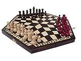 3 Drei Spieler Schachspiel - MEDIUM - RULES INKLUSIV