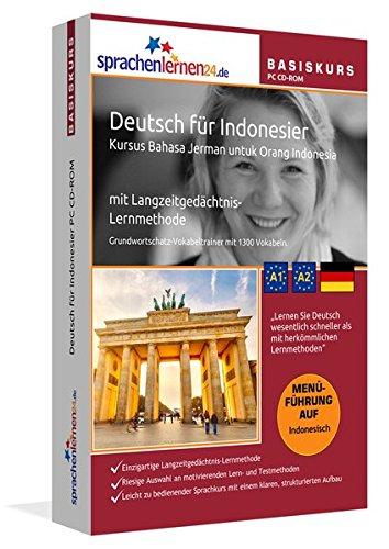 Sprachenlernen24.de Deutsch für Indonesier Basis PC CD-ROM: Lernsoftware auf CD-ROM für Windows/Linux/Mac OS X