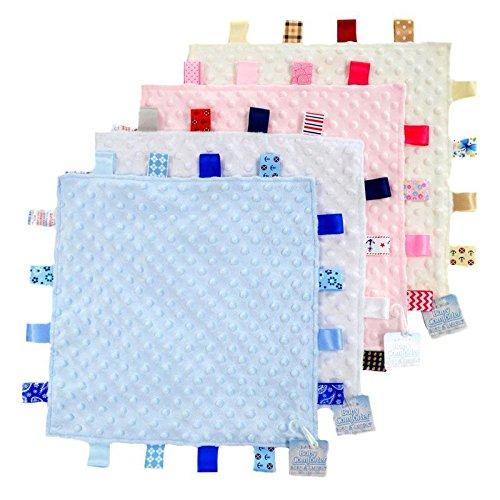 Weiß Taggie (Soft Touch Weiß Tag Komfort Decke)