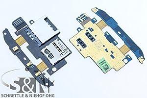 NG-Mobile Original HTC Desire S Sim Karten Flex Simkontakte microSD Leser Reader Flex Kabel Leitung Stecker Elektronik