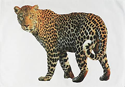 The Big Leopard - Big Cat Large Cotton Tea Towel