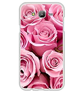 Fiobs Designer Back Case Cover for Samsung Galaxy On5 (2015) :: Samsung Galaxy On 5 G500Fy (2015) (Rose Flowers Floral Ful Red Gulaab Aroma Smell)