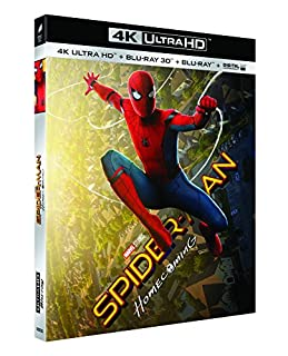 SPIDER-MAN : HOMECOMING - UHD + BD 3D + BD (UV) [4K Ultra HD + Blu-ray 3D + Blu-ray + Digital UltraViolet] (B073VQYMPR) | Amazon price tracker / tracking, Amazon price history charts, Amazon price watches, Amazon price drop alerts