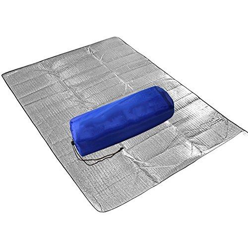 XY&CF Pique-nique couverture pique-nique tapis extérieur imperméable pique-nique mat camping en aluminium film mat rampant tapis (taille : 200*200cm)