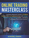 Online Trading Masterclass: Complete Beginners Guide to Trading Stocks, Forex & Cryptocurrency with Swing, Position & Day Trading Guides + Investing Techniques from Great Investors