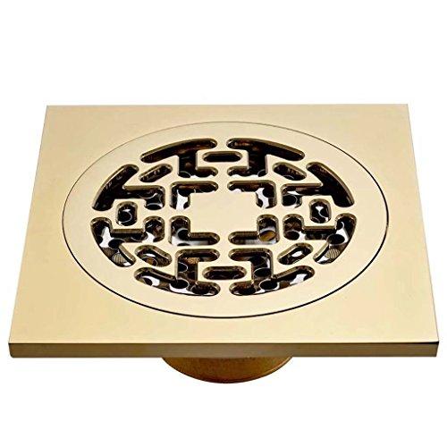 Siphon de sol en cuivre Lave-linge déodorant ensemble de toilette ensemble de drainage