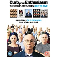 Curb Your Enthusiasm : Complete HBO Seasons 1 To 5 Box Set