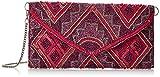 LOLA CASADEMUNT Niamey, Bolso de mano para Mujer, Rosa (Fucsia), 3x27.00x14.00 cm (W x H x L)