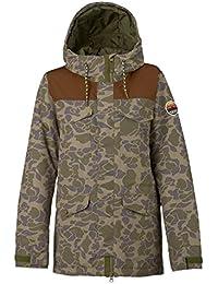 Burton Fremont – Cazadora de snowboard, otoño/invierno, mujer, color Petal Camo/Brn Lthr, tamaño XL