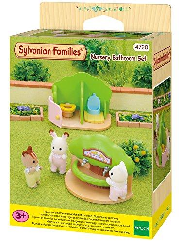 SYLVANIAN FAMILIES- Nursery Toilet Mini muñecas y Accesorios, (Epoch para Imaginar 2637)