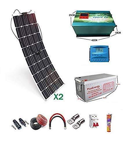 Kits de energía solar 12v. Incluyen el material necesario para realizar la instalación: panel solar, regulador de carga,Inversores 12v,Conectores y cableado. Los kits de WccSolar permiten obtener energía de apoyo extra y recargar la batería de la car...