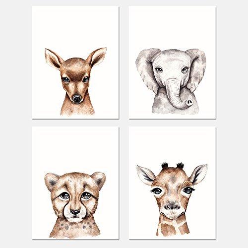 rints 20,3x 25,4cm   Home, Schlafzimmer & Wohnzimmer Dekor   ideal für Geschenke   Safari ()